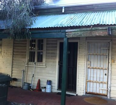 100yr house renovation before