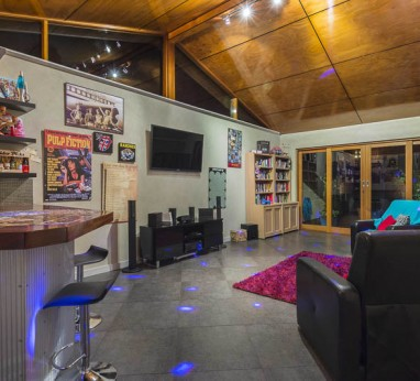 games room or family room