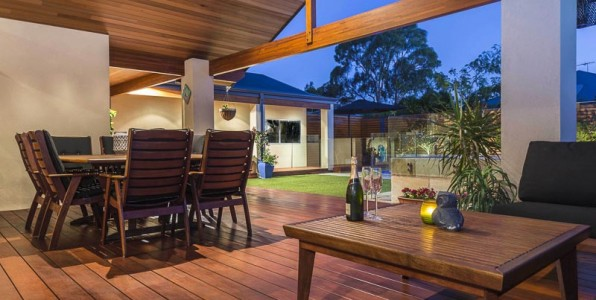 outdoor verandah living